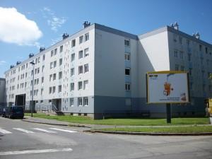 Grand ensemble d'habitat social de barres et de tours construit sur le modèle moderniste de la Charte d'Athènes Yoann Meudec et Philippe Lannuzel, 2009-2010, Etude Brest,forme d'une ville, Adeupa